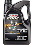 Castrol 03101 EDGE 0W-40 Synthetic Oil for BMW 328i