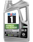 Mobil 1 Advanced 0W-20 Full Synthetic Motor Oil
