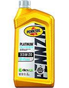 Pennzoil Platinum Full Synthetic 5W-20 Motor Oil