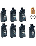 7-Quarts Genuine Synthetic 5w30 Motor Oil & 1 Oil Filter for BMW E90